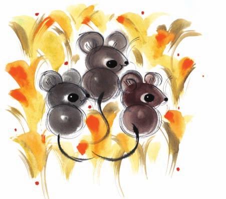 鼠,绘画/韩美林.图片