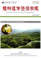 植物遗传资源学报2019年7月第4期