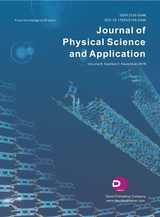 Journal of Physical Science and Application2019年11月第2期