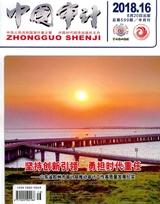 中国审计2018年8月第16期